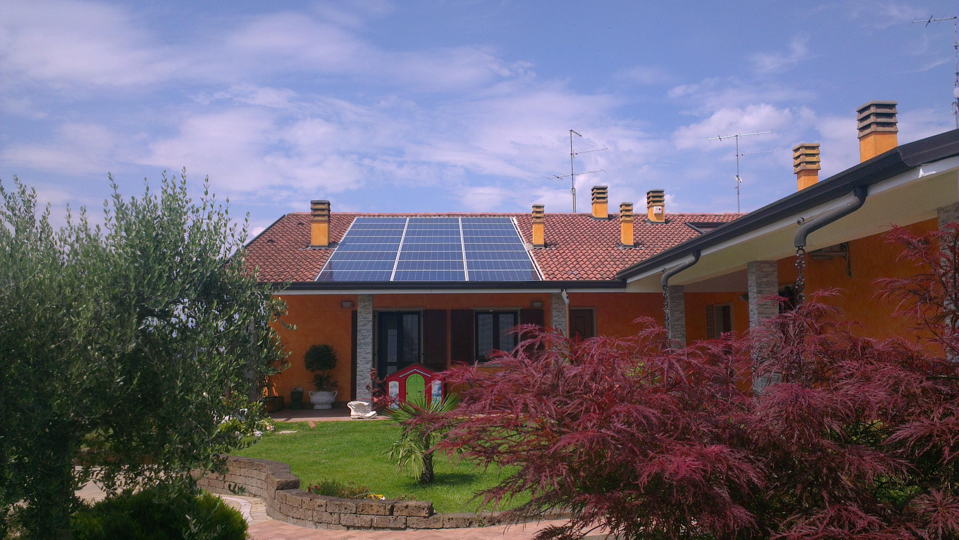 impianto fotovoltaico Novarini